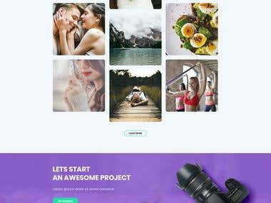 Picky - Professional Photography Service Website Template