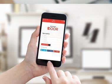 Booking Door Mobile App