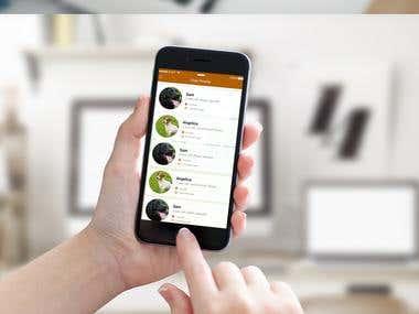 Dog Meet Walk Mobile App