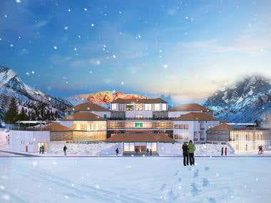 Naltar Ski Resort, Gilgit Baltistan, Pakistan