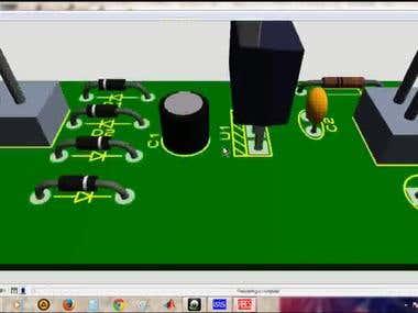 5V power supply pcb layout