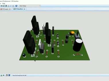Class-A Audio amplifier
