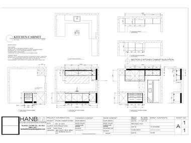 2D plan Design (Furnitures)