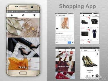React Native Shopping App