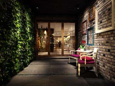 Interior Project - Boutique