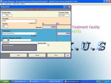 ABAKUS - Accounting Application