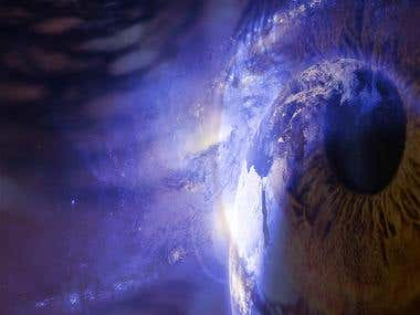 Artwork - Defiance in Space (Men versus God)