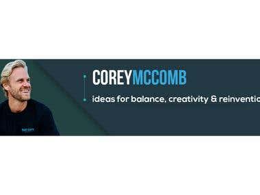 Corey Mccomb Banner Design