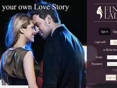 Dating website on Codeigniter framework
