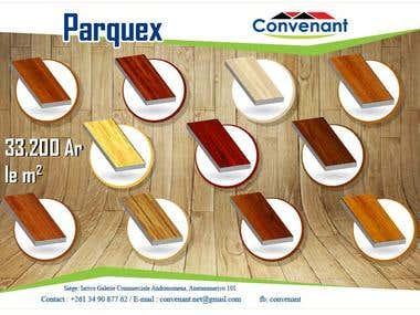 brochure de parquex
