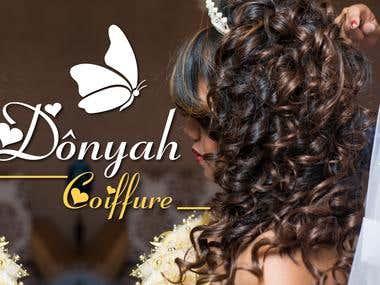 affiche pour coiffure