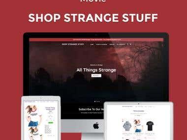 Shop Strange Stuff