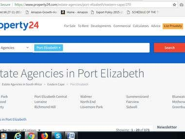 EXTRACT AGENTS FROM AGENCIES