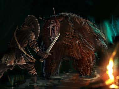 Ancient Russia - Mutant Bear