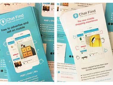 Print flyers & Digital banner adverts