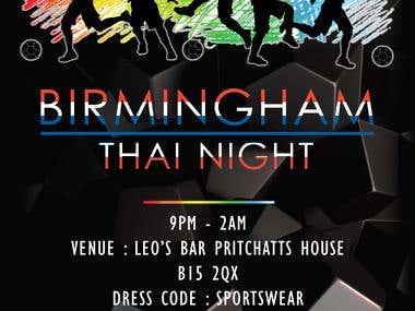 Thai night poster