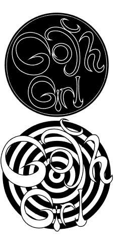 comic title logo design