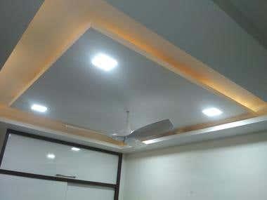 Masterbedroom redesign for Mr. Rounak Vohra Indore India