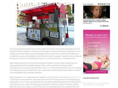 Food Truck Blog