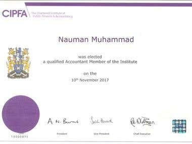 Member - The Chartered Institute of Public Finance and Acco.