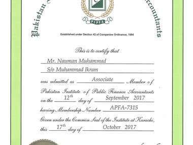 Associate Member - PIPFA