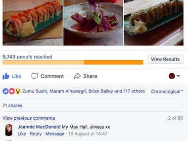 Sushi Business Advertising
