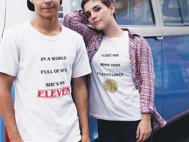 Stranger Things Tshirts