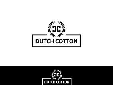 Wining Logo Design for Dutch Coton