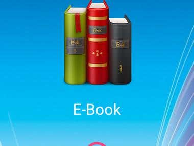 E-Book Mobile Android Application