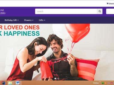 Royal Bakers For Online E-Commerce Web Application