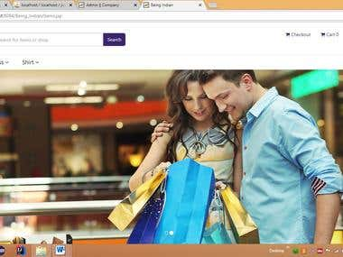 Being India Online E-Commerce for cloths, wears