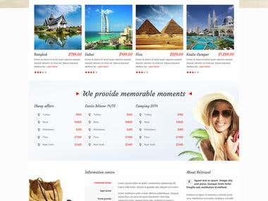 Travel Help Site
