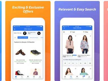 Ecommerce Online Shopping App & website with Multi vendor