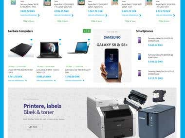 eCommerce Magento Website