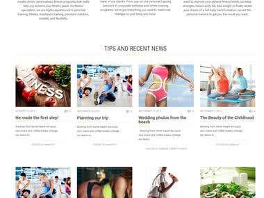 Highly Customised WordPress Theme