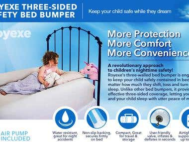 Amazon EBC for Toddler Bed Rail Guard