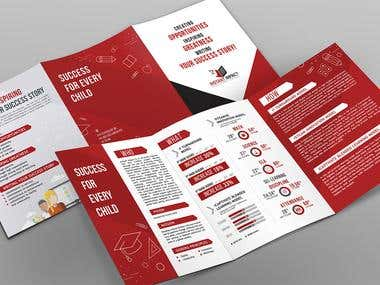 Trifold A5 Brochure