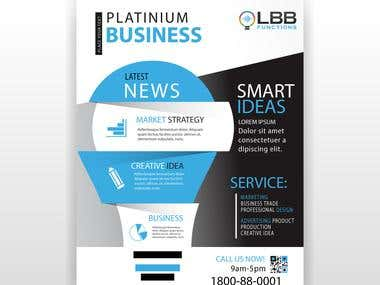 LBB Functions Flyer Design