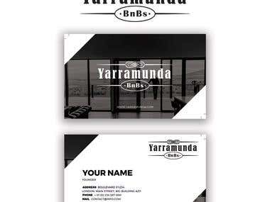 Yarramunda BNB's Logo and Business Card Design