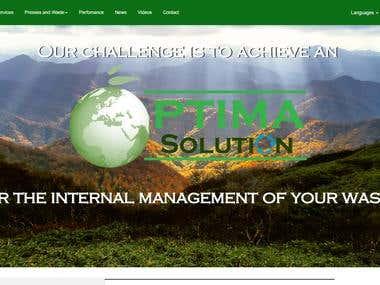 Optima Solutions website