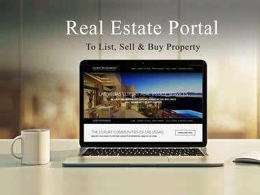 Real Estate MLS IDX Website