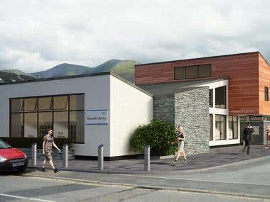 Keswick Library Revamp