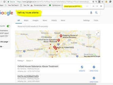 Top 4 Ranking on google