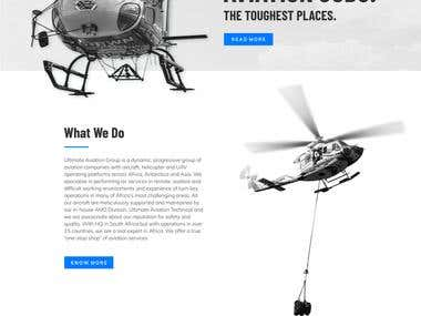 Aviation Services Website