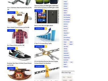 Blog site (asp.net, linq, sql)