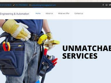 Pratyush Engineering & Automation - Website