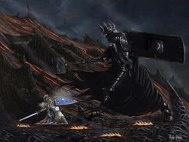 Fall Of Fingolfin
