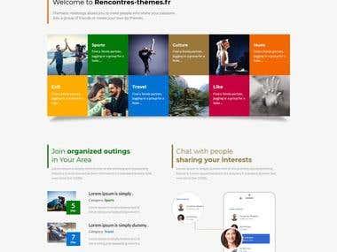 Rencontres Thematiques Social Media Website