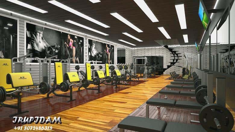 Gym Design For Mr Gym Freelancer