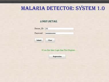 Malaria Detector